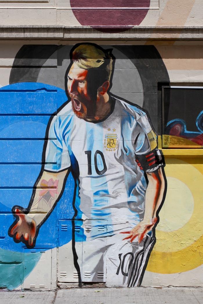 Lionel Messi, La Boca, Buenos Aires, Argentina