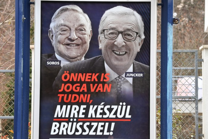 Juncker-Soros AFP